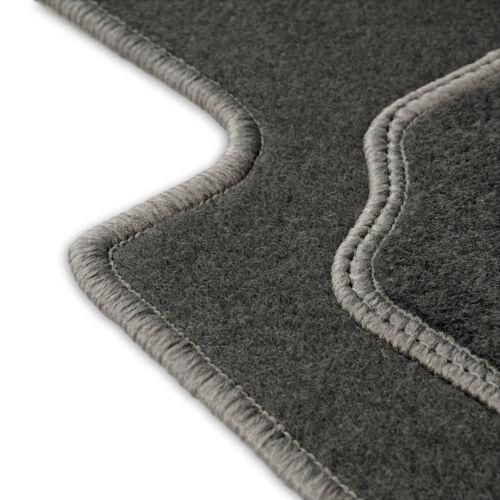 Fußmatten Auto Autoteppich passend für Fiat Panda 2 II 169 2003-2012 CASZA0104