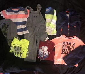 erkända varumärken ser bra ut försäljning spara upp till 80% 9 Piece Lot Of 2T Toddler Boys Clothing - Brands Carter's OKB Gap ...