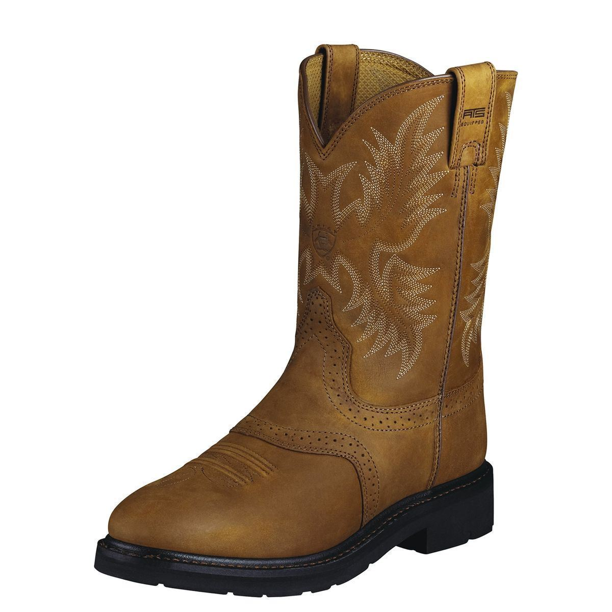 Uomo ARIAT SIERRA SADDLE SOFT TOE WESTERN WORK BOOTS 10002304 10002304 BOOTS 83275d