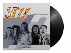 Styx – Best Of Live At The Classic FM Broadcast 1977  New  LP  Vinyl  in seal