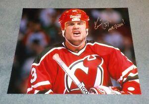newest 7d290 53c4b Details about NJ Devils Ken Daneyko Signed Autographed 16x20 Photo Mr.  Devil JSA B