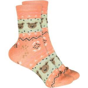 AnpassungsfäHig Cosey Dünne Socken – Bär Orange (33-40) 1 Paar - Baumwolle Atmungsaktiv Weich Reich Und PräChtig