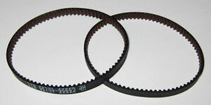 """2 X Hobby Motor Drive Belts - 1.75"""" Dia. - 13 Teeth / in. - 5/32"""" Wide - Small"""