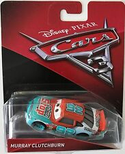DISNEY CARS 3 MURRAY CLUTCHBURN  N°92 SPUTTER STOP 2017 NEW 92 PIXAR