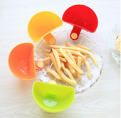4pcs Assorted Colors Progressive Dip Clip Creative Cup Capacity Tiered Stand New