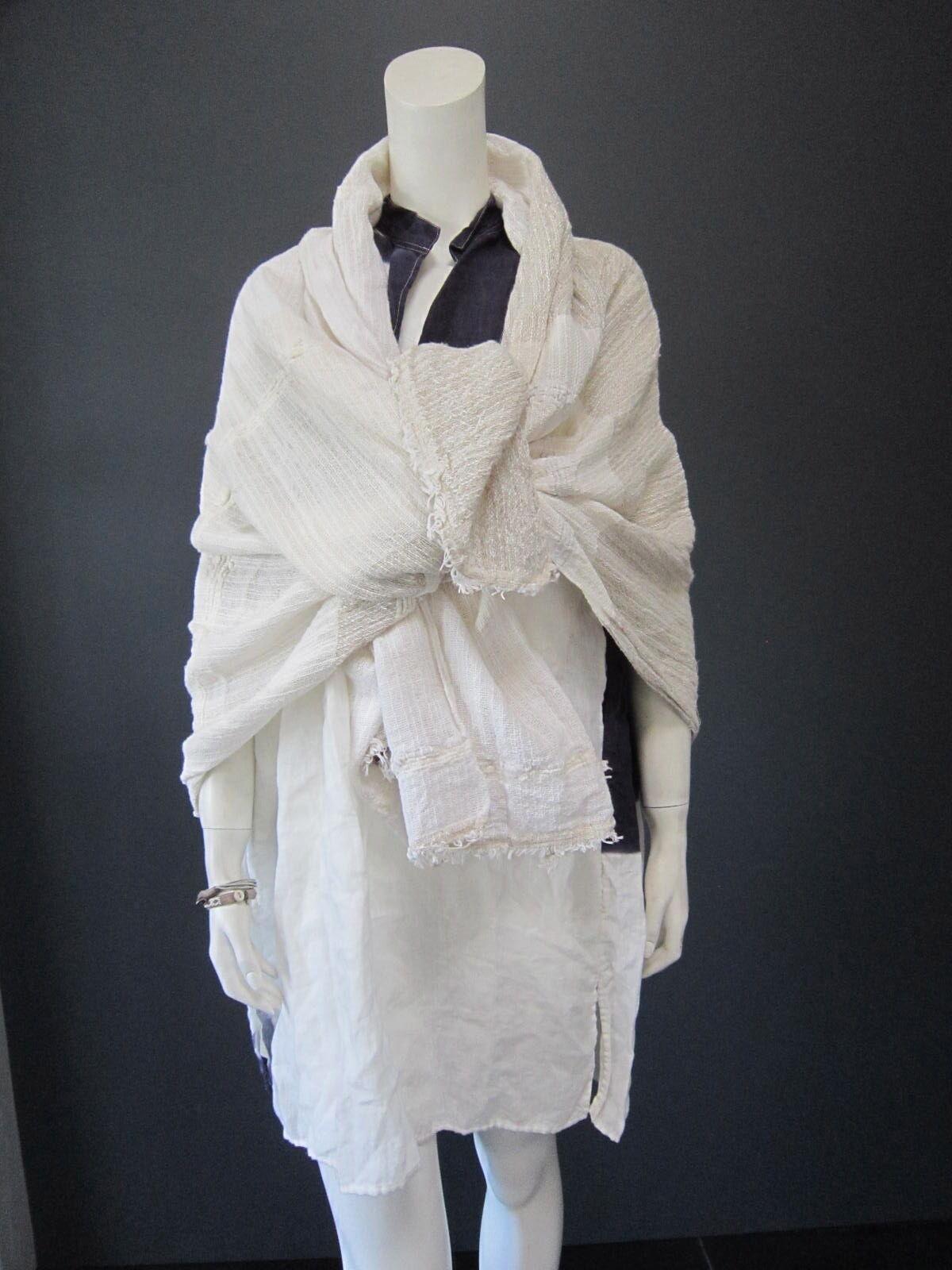 DANIELA GREGIS 100 % linen short dress   top top top New With Tag e66a0b
