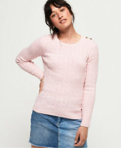 Superdry Womens Croyde Cable Knit Jumper