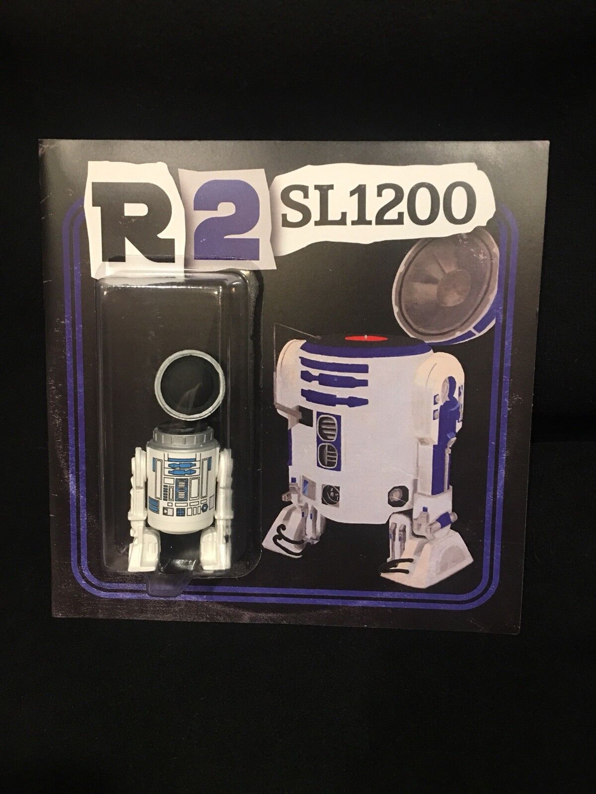 SDCC Exclusive DKE Star Wars R2 SL1200 with vinyl record