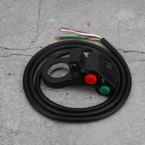 3-in-1 Turn Signal /& Horn /& Headlights Combination Switch For Motorcycle