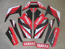 YAMAHA  BLASTER RED/BLACK GRAPHICS  1987 1988 1989 2000 2001 2002