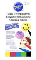 Wilton Candy Decorating Pens 5 Colors Candy Melts