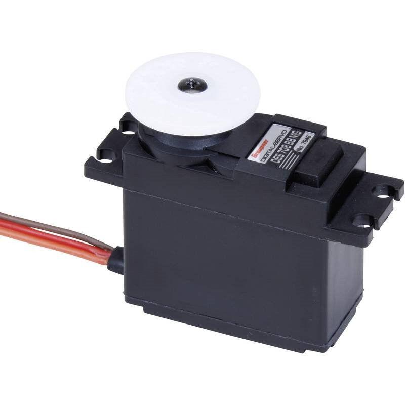 Graupner Standard Servo DES 708 BB, MG Servo digitale Materiale trasmissione: Me