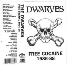 Dwarves - Free Cocaine 1986-88 - CASSETTE TAPE - SEALED new copy