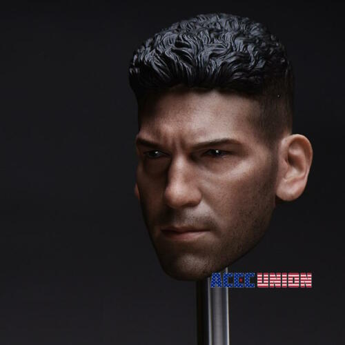 1//6 Punisher Head Sculpt Jon Bernthal For Hot Toys PHICEN Male Figure USA SELLER