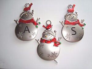 DALE Personalized Snowman Ornament GANZ