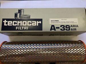 FILTRO ARIA ALFA ROMEO GIULIA 1.3 1.6 1750 2000 GT SPYDER ALFETTA TECNOCAR A39