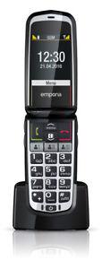 emporiaCOMFORT-Klapphandy-Zweites-Display-2-MPixel-Kamera-Bluetooth-NEU-OVP