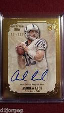 Andrew Luck  2012 Topps Five Star Auto Rookie Card RC 1/100 1/1 First One Made !