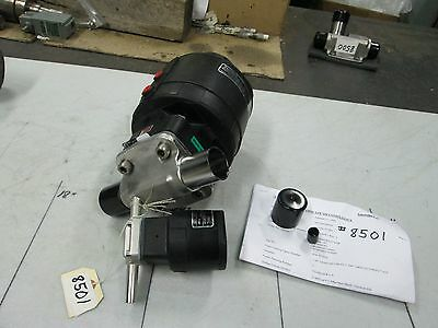 """Crane-Saunders S//S 2-Valve Fabrication P//N WB0040G8A62*DQ8 1.5/"""" OD Tube NEW"""