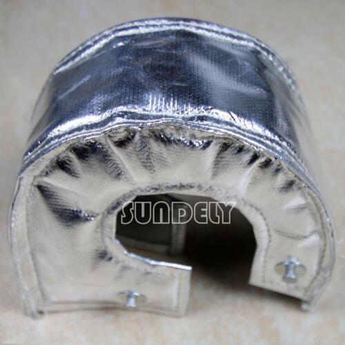 SILVER TURBO HEAT SHIELD BLANKET WRAP T3 T25 GT25 GT28 GT30 GT32 GT35 GT37 UK