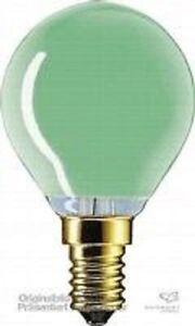 Ampoules-Forme-de-goutte-E14-15W-vert-230V-PHILIPS