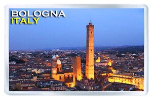 BOLOGNA ITALY MOD2 FRIDGE MAGNET SOUVENIR IMAN NEVERA