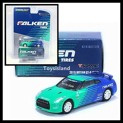 1//64 Greenlight TARMAC Works 2002 Nissan Skyline GT-R R34 #1 Falken Tires 51150