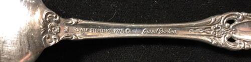 Towle Grand Duchess Teaspoon Monogram Sterling Silver Flatware