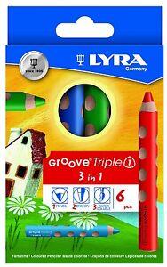 Lyra GROOVE Triple 1 Kartonetui Farbstifte K06 3831060