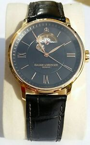 Baume amp Mercier Classima Executive Solid Rose Gold 18k - <span itemprop='availableAtOrFrom'>Sandy, United Kingdom</span> - Baume amp Mercier Classima Executive Solid Rose Gold 18k - Sandy, United Kingdom