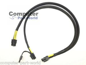 8pin to 8+8pin Power Adapter Cable for HP ProLiant DL380 G10 and GPU 50cm