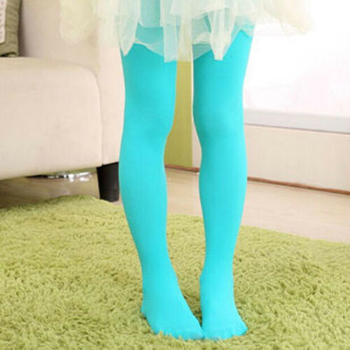 Kids Girls Dance Pantyhose Pant Ballet Footed Tights Long Stockings Acc Gift Hot