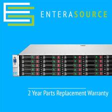 HP PROLIANT DL380P G8 GEN8 SERVER 2X E5-2670 2.6GHZ 8C 128GB 25X 300GB 10K SAS