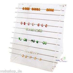 Display Schmuckständer Für Perlen Beads Acryl Transparent Modern Und Elegant In Mode