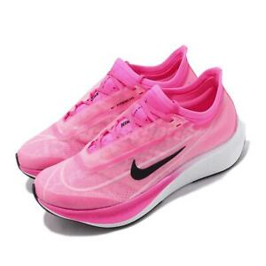 Details about Nike Wmns Zoom Fly 3 Pink Blast True Berry Black Women Running Shoes AT8241 600