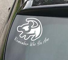 Lion King Car/Window JDM VW EURO DUB Vinyl Decal Sticker