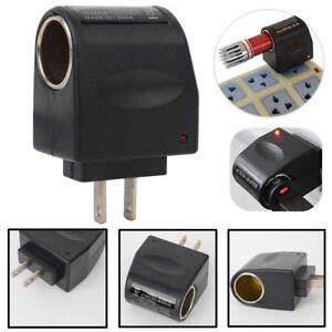 AC-Wall-To-DC-Car-Cigarette-Lighter-Port-Power-Converter-Female-Adapter-12V-Plug