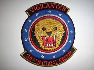 US-Air-Force-34th-Militare-Gruppo-034-Vigilantes-034-Vietnam-Guerra-Toppa