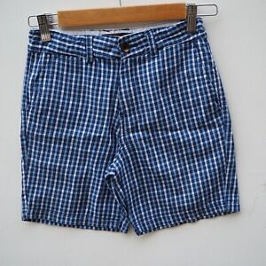 Fantastic-BEN-SHERMAN-Boy-039-s-Blue-Checked-Shorts-age-10-years