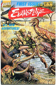 EVANGELINE-1-2-3-4-5-6-7-8-9-10-11-VF-NM-Dixon-Hunt-1987-11-issues-First