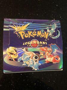 Pokemon Legendary Collection Booster Empty Box English ...