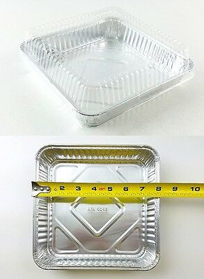 Handi Foil 8 Quot X 8 Quot Square Aluminum Foil Cake Pan W Dome