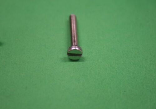 10 x DIN 84 Zylinderschraube V2A M3x35 mm Schlitz Edelstahl