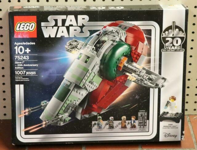 New LEGO Star Wars 75243 Slave l 20th Anniversary Edition Toy 1007 Pcs