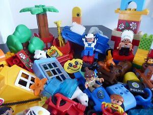LEGO-DUPLO-100-pieces-XXL-Set-Blocs-de-construction-Starter-personnages-animaux-vehicules-liasse
