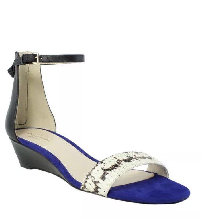 NIB Cole Haan donna Multi-Coloree Sandals Dimensione 8