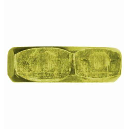 niedrige Form Stahl 10x DIN 439 Sechskantmuttern M 5 mit Fase Form B 04 Au