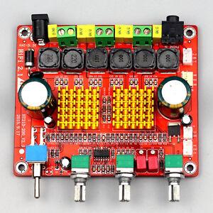 Details about New Digital 2 1 Class D HIFI Power Amplifier Board 3CH Super  Bass Amplifier