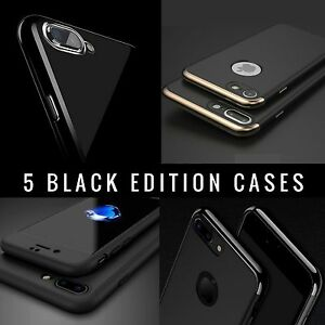 1831467448 Jet Black Case For Apple iPhone XS Max 8 7 6s Plus SE Gel Silicone ...