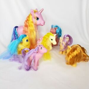 My Little Pony Vintage 1980's Lot Of 7